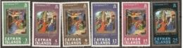 Cayman Islands  1973   SG 329-4  Christmas   Unnmounted Mint - Iles Caïmans