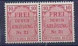 190032084  ALEMANIA  IMPERIO  YVERT   SERVICE  Nº   4  **/MNH - Alemania