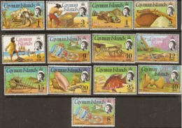 Cayman Islands  1974  Various Values To 40c    Unnmounted Mint - Iles Caïmans
