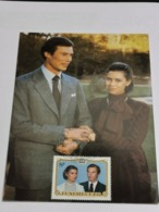 Luxembourg, Grand Duc Henry Et Grand Duchesse Maria Teresa - Cartoline Maximum