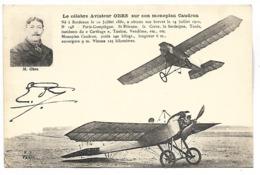 AVIATEUR - Le Célèbre Aviateur OBRE Sur Monoplan Caudron - Airmen, Fliers