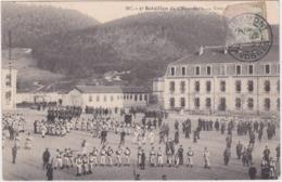 5e Bataillon De Chasseurs - Cour Du Quartier - Saint Etienne De Remiremont