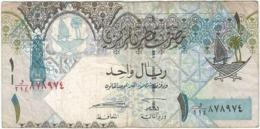 Catar - Qatar 1 Riyal 2008 Pk 28 1 Ref 2938-3 - Qatar