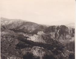 LANJARON CASTILLO 1963 Photo Amateur Format Environ 7,5 Cm X 5,5 Cm - Lugares
