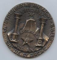 Franc-maçonnerie, Saint-Girons Médaille Maçonnique, La Pyrénéenne Du Mont Valier, Anniversaire, 200 Ans, 2011, P. 170 G - France