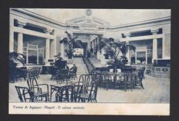 15291 Napoli - Terme D'Agnano - Napoli - Il Salone Centrale F - Napoli (Naples)