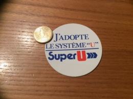 AUTOCOLLANT, Sticker «J'ADOPTE LE SYSTÈME U - Super U» - Autocollants