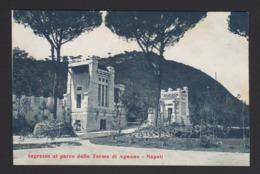 15293 Napoli - Ingresso Al Parco Delle Terme D'Agnano F - Napoli (Naples)