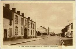 CPA La Mothe-Achard. L'entrée De La Gendarmerie - La Mothe Achard