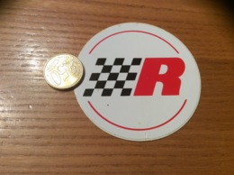 AUTOCOLLANT, Sticker «R» (supermarché Rallye) - Autocollants