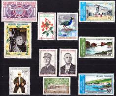 Comores 1970-74 Petit Lot De Timbres Oblitérés O, Je Vends Ma Collection! - Comoro Islands (1950-1975)