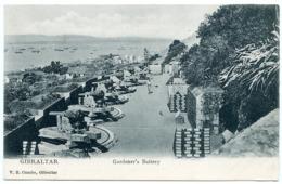 GIBRALTAR : GARDENER'S BATTERY - Gibraltar