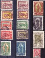 Congo Francais 1900-04 Lot De Timbres Courants Oblitérés O, Je Vends Ma Collection! - Französisch-Kongo (1891-1960)