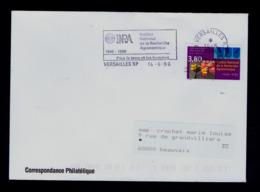 """INRA 1946-1996 Institut National De La Recherche Agronomique FRANCE VERSAILLES """" Pour La Terre Et Les Hommes"""" Sp6159 - Agriculture"""