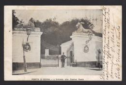 15300 Napoli - Porto D'Ischia - L'Entrata Alla Casina Reale F - Napoli