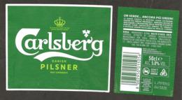 DANIMARCA - Etichetta Birra Beer Bière CARLSBERG - Birra