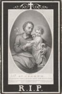 Prentje  Van Middelem -handzaeme-rousselaere 1874 - Devotion Images