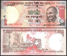 India - 1000 Rupees 2013 UNC Lemberg-Zp - India