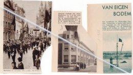 TEMSCHE 1934..1936..1938.. JUBELFEEST HARMONIE/ NIEUW MOEDERHUIS / VRACHTBOOTJE WILFORDLIJN - Vecchi Documenti