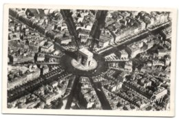 Paris Vu D'Avionb - La Place De L'Etoile - Triumphbogen