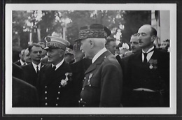 CARTE PHOTO - Amiral Darlan Et Marechal Petain - Guerre 1939-45