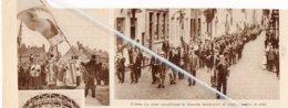 TEMSCHE.. 1935.. VAANDELFEESTEN - Vieux Papiers