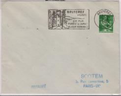 BRUYERES (Vosges), 19 Avril 1960, Flamme, Air Pur / Forêts De Sapins / Séjour Agréable - 1921-1960: Modern Period