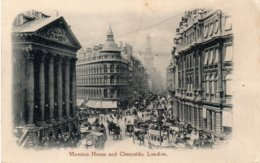 MANSION HOUSE And CHEAPSIDE, LONDON - Autres