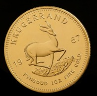 SUD AFRICA  1967 South Africa Krugerrand Commemorative Coin Medals - Sudáfrica
