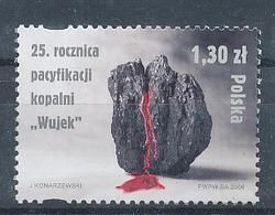 2006, Pologne, Polska Y&T N°4035 Neuf - Minéraux, Minerals, Charbon, Coal. - Minéraux