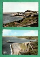 50 Manche Dielette Lot De 2 Cartes Postales Format 10;5cm X 15cm - Autres Communes