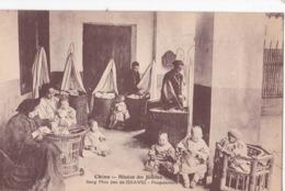 Carte  Postale Ancienne :  Chine Seng Mou Yeu De Zikawei  Pouponnière  Nursery    Ed Jésuites - Chine