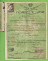 Portuga - Passaporte - Passport - Passeport - Suisse - España - Vecchi Documenti