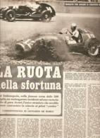 (pagine-pages)ALBERTO ASCARI AD INDIANAPOLIS  Settimanaincom1952/24. - Libri, Riviste, Fumetti