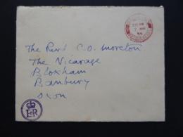 GREAT BRITAIN [UK]  POSTAL COVER   POSTMARK ER 1955 WINDSOR - Postmark Collection
