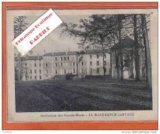 Carte Postale 54. La Malgrange-Jarville  Institution Des Sourds-Muets  RARE  Trés Beau Plan - Frankreich