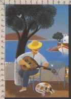 PL141/ Jean-Pierre LORAND, Artiste Belge, *Le Soleil En Musique* - Peintures & Tableaux