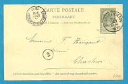 Entier Met Stempel GOUY-LEZ-PIETON - Stamped Stationery