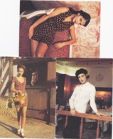 3 CARTES  CPM PUB KOOKAI PRINTEMPS/ETE  1992 FEMME - Moda