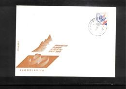 Jugoslawien / Yugoslavia 1990 European Athletics Championship In Split Interesting Cover - Leichtathletik