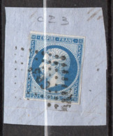 "Napoléon III -- N° 14 -- Cachet  Ambulant  CP3 ° -- "" Calais  à  Paris ""    Sur Fragment  .....à Saisir - 1849-1876: Periodo Clásico"