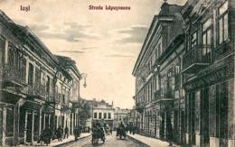 IASI : STRADA LAPUSNEANU - ANNÉE / YEAR ~ 1925 (ac902) - Roumanie