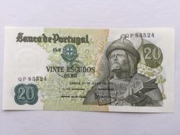PORTUGAL P173  20 ESCUDOS 27.07.1971 UNC - Portugal