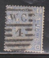 GREAT BRITAIN Scott # 82 Used Plate 23 - Queen Victoria - CV $32.50 - 1840-1901 (Victoria)