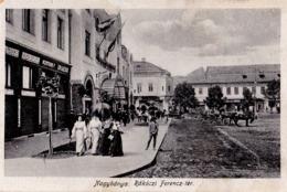 NAGYBÁNYA / BAIA MARE : RÁKOCZI FERENCZ-TÉR - COMMERCE : DROGERIA F. WEINTRAUB [ JUDAÏCA ] - 1918 (ac901) - Roumanie