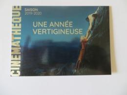 CPM Métalisée Publicitaire Cinémathèque Française De 2019  La Mort Aux Trousses D' Alfred Hitchcock 1959 - Cinema
