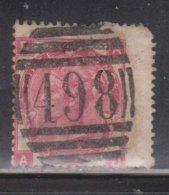 GREAT BRITAIN Scott # 49 Used - Queen Victoria - CV $62.50 Rounded Corner - 1840-1901 (Victoria)