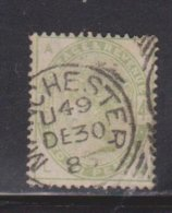 GREAT BRITAIN Scott # 103 Used - Queen Victoria - CV $210.00 - Nice CDS - 1840-1901 (Victoria)