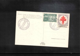 Jugoslawien / Yugoslavia 1952 Interesting Postcard With Scarce Tax Stamp For TBC - Covers & Documents