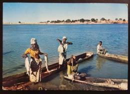 AFRIQUE EN COULEURS - COTE D'IVOIRE - Retour De Peche / Coming Back From Fishing    Vg - Costa D'Avorio